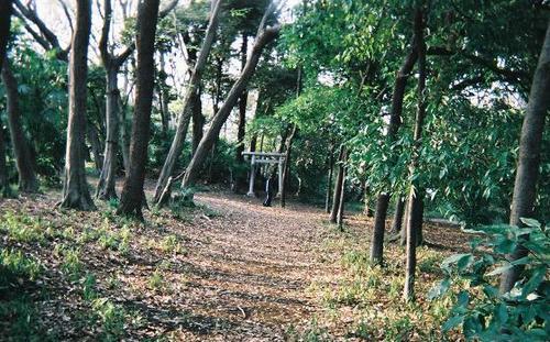 城のある風景: 北国分 堀之内貝...