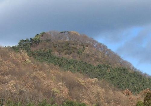 桐生城の本丸