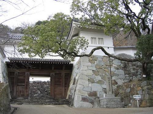 龍野城(江戸期のものの復元)