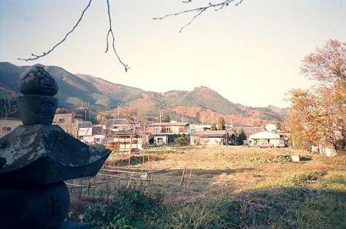 桐生城遠望
