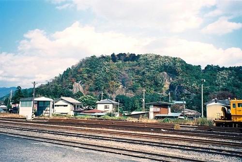 高津戸城址のある要害山